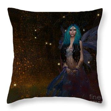 Blufae Throw Pillow