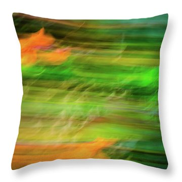 Blurred #11 Throw Pillow