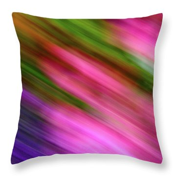 Blurred #6 Throw Pillow
