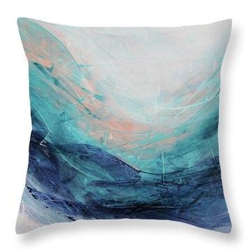 Blushing Sky Throw Pillow