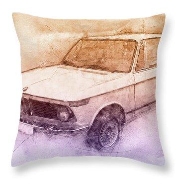 Automotive Art Series Throw Pillows