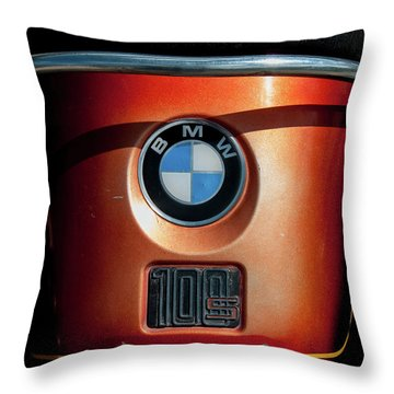 Throw Pillow featuring the photograph Bmw 100 S by Britt Runyon