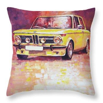 Bmw 2002 Turbo Throw Pillow