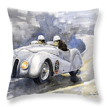 Roadster Throw Pillows