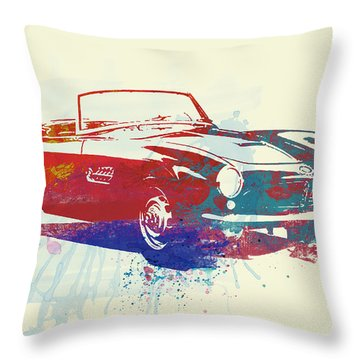 Bmw 507 Throw Pillow