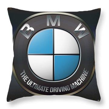Bmw Logo Throw Pillow