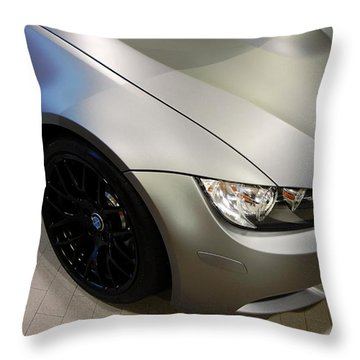 Throw Pillow featuring the photograph Bmw M3 by Aaron Berg