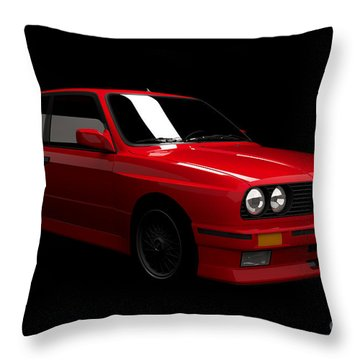Bmw M3 E30 Throw Pillow