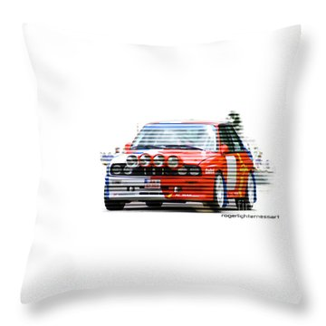 Bmw M3 Group A Throw Pillow