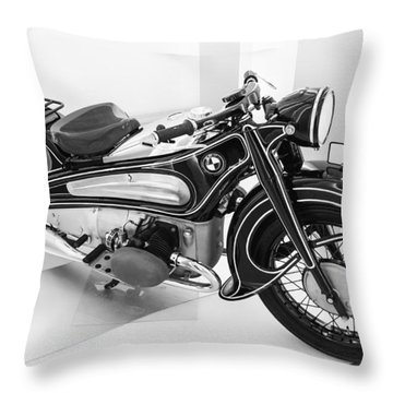 Bmw R7 1934 Prototype Throw Pillow