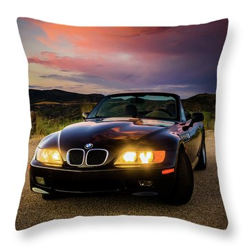 Bmw Z3 Throw Pillow