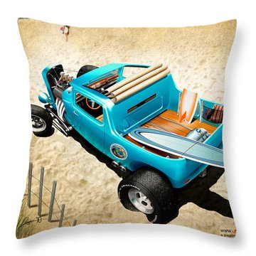 Board Breaker Throw Pillow