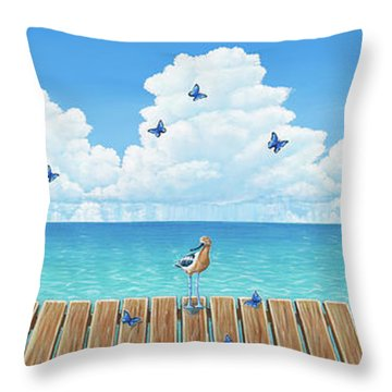 Board Meeting Throw Pillow