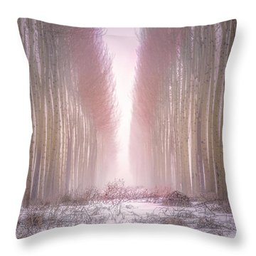 Boardman Tree Farm  Throw Pillow