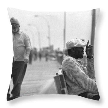 Boardwalk 2 Throw Pillow