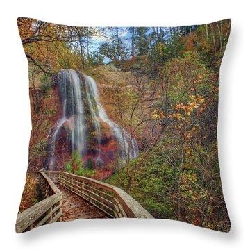 Boardwalk - Smith Falls - Nebraska Throw Pillow