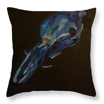 Boar's Skull No. 2 Throw Pillow by Joshua Redman