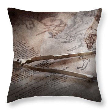 Boat - Sailor - We Are Ready To Sail  Throw Pillow by Mike Savad