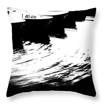 Boat #1 4669 Throw Pillow