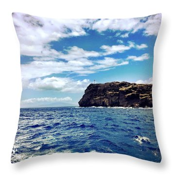 Boat Life Throw Pillow by Michael Albright