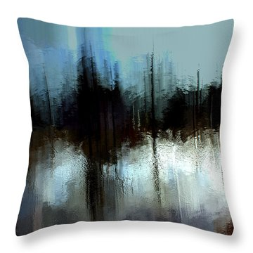 Boathouse 3 Throw Pillow