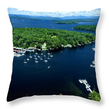 Boating Season Throw Pillow