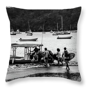 Boats And Boards  Throw Pillow