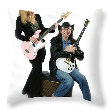 Bob And Theresa Kaat-wohlert Throw Pillow