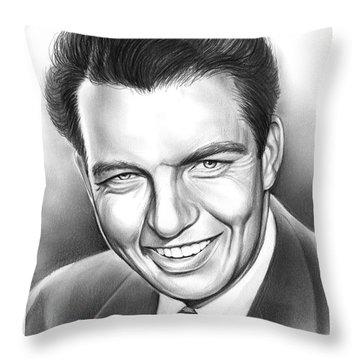 Bob Bailey Throw Pillow