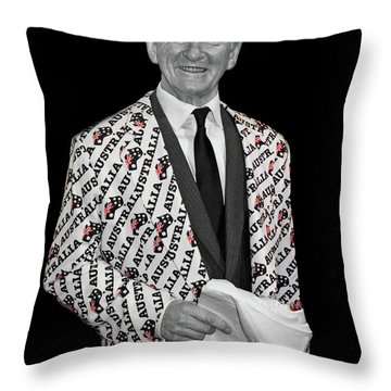 Bob Hawke Throw Pillow