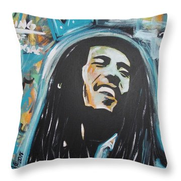 Bob The King Throw Pillow