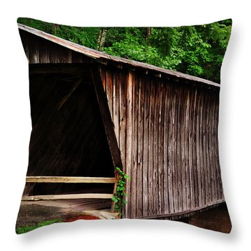Bob White Bridge Throw Pillow