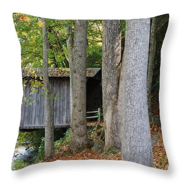 Throw Pillow featuring the photograph Bob White by Eric Liller