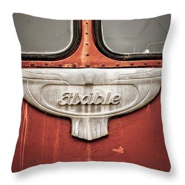 Bob Wills And His Texas Playboys Tour Bus Throw Pillow