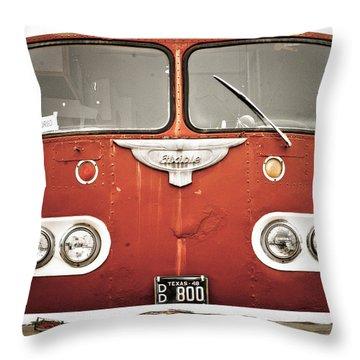 Bob Wills Bus Throw Pillow