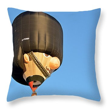 Throw Pillow featuring the photograph Bobby by AJ Schibig