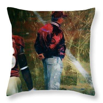 Bobby Bowden Throw Pillow