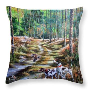 Quail Throw Pillows | Fine Art America
