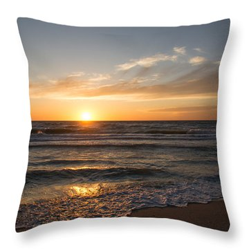 Boca Grande Sunset Throw Pillow
