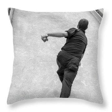 Bocce Ball Throw Pillow