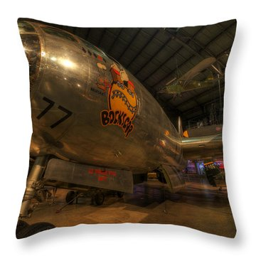 Bock's Car Boeing B-29 Throw Pillow