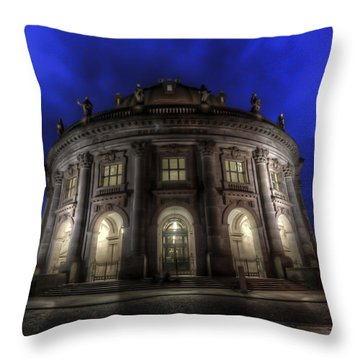 Bode In Colour Throw Pillow by Nathan Wright