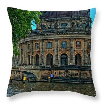 Bode Museum Throw Pillow by Joan Carroll