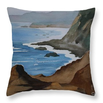 Bodega Bay Throw Pillow
