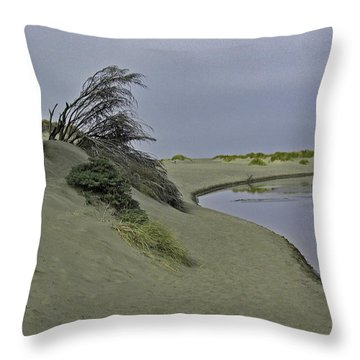 Bodega Dunes Throw Pillow