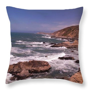 Bodega Head Throw Pillow