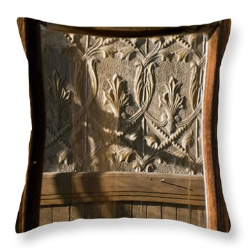 Throw Pillow featuring the photograph Bodie 19 by Catherine Sobredo