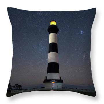 Bodie Blue Throw Pillow