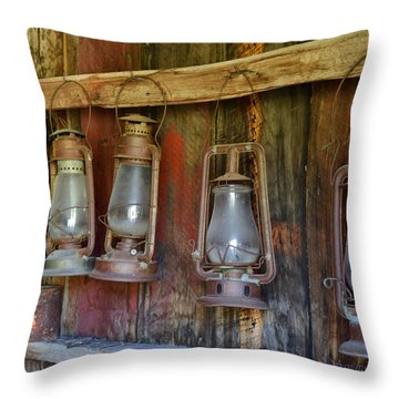 Bodie Blue Light Special Throw Pillow
