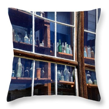 Bodie Bottles #1 Throw Pillow